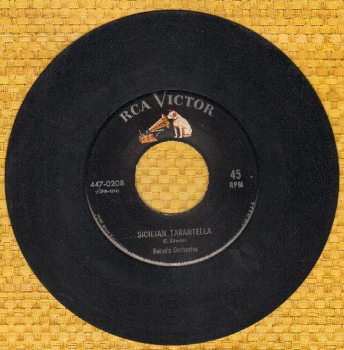 Reina's Orchestra - Sicilian Tarantella/La Raspa - EX8/ - 45 rpm Records