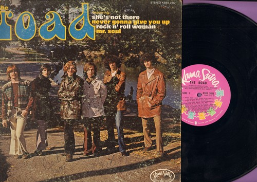 Road - The Road: She's Not There, Mr. Soul, Dance To The Music, Taste Of Honey, Rock & Roll Woman (vinyl STEREO LP record, DJ advance pressing) - NM9/VG6 - LP Records