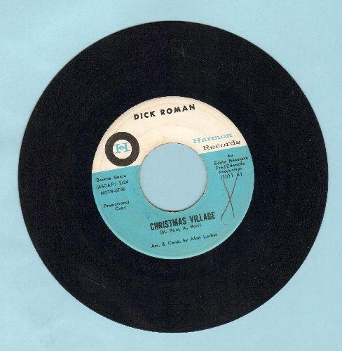 Roman, Dick - Christmas Village/Climb Every Mountain (DJ advance pressing) - EX8/ - 45 rpm Records