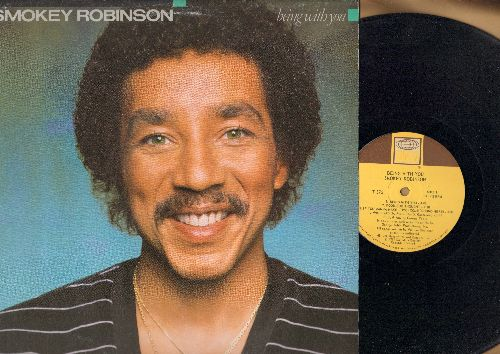 Robinson, Smokey - Being With You: Can't Find Love, You Are Forever, Who's sad, If You Wanna Make Love (vinyl LP record) - NM9/VG7 - LP Records