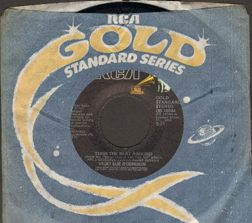 Robinson, Vicki Sue - Turn The Beat Around/Daylight (double-hit re-issue with RCA company sleeve) - M10/ - 45 rpm Records