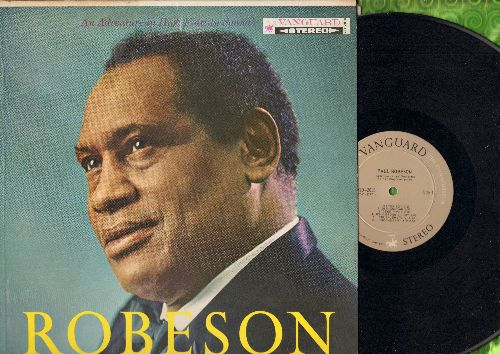 Robeson, Paul - Robeson: Shenandoah, John Brown's Body, Loch Lomond, Jerusalem, Londonderry Air (Danny Boy) (vinyl STEREO LP record) - NM9/EX8 - LP Records