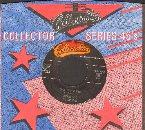 Rochell & The Candles - Once Upon A Time/A Thousand Stars (by Kathy Young on flip-side) (re-issue with Collectables company sleeve) - NM9/ - 45 rpm Records