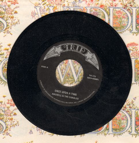 Rochelle & The Candles - Once Upon A Time/When My Baby Is Gone (with juke box label) - M10/ - 45 rpm Records