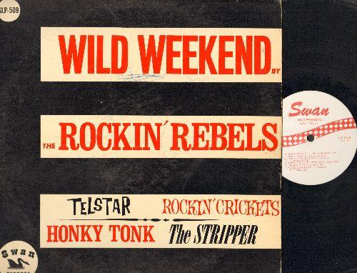 Rockin' Records - Wild Weekend: Telstar, Rockin' Crickets, The Stripper, Honky Tonk, Hully Gully Rock (vinyl MONO LP record) - VG7/VG6 - LP Records