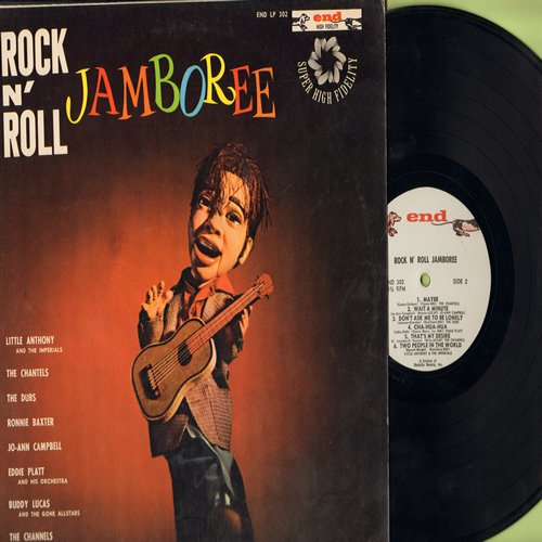 Little Anthony & The Imperials, Dubs, Chantels, Jo-Ann Campbell, Channels - Rock N' Roll Jamboree: That's My Desire, Two People In The World, Song In My Heart, Be Sure My Love, Wait A Minute, Someone To Love Me, Don't Ask Me To Be Lonely (Vinyl LP record,