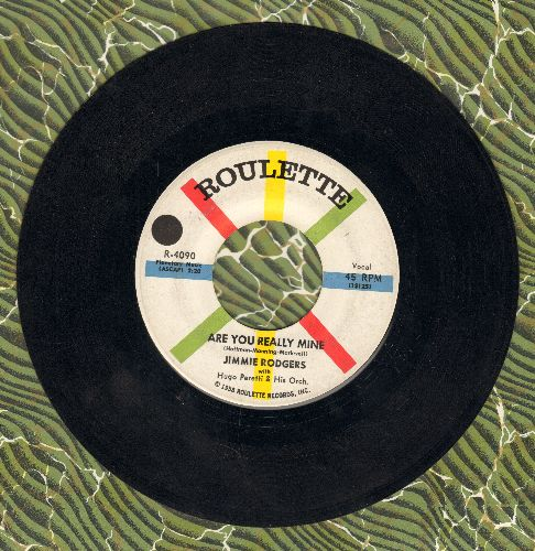 Rodgers, Jimmie - Are You Really Mine/The Wizard  - EX8/ - 45 rpm Records