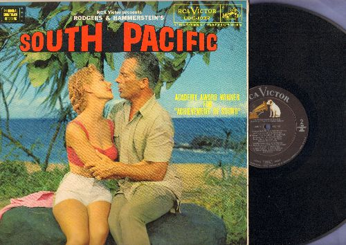 South Pacific - South Pacific - Original Motion Picture Sound Track (vinyl LP record, MONO Pressing) - EX8/EX8 - LP Records
