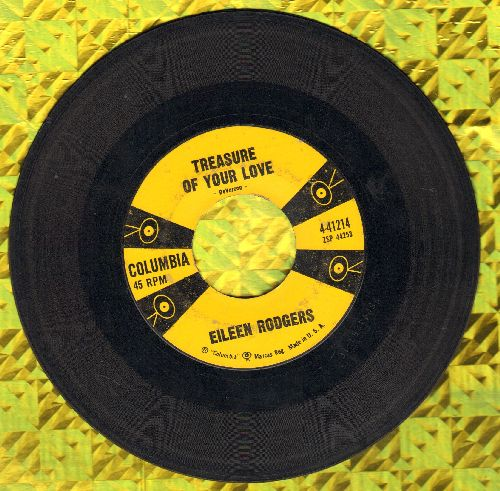 Rodgers, Eileen - Treasure Of Your Love/A Little Bit Bluer - VG7/ - 45 rpm Records
