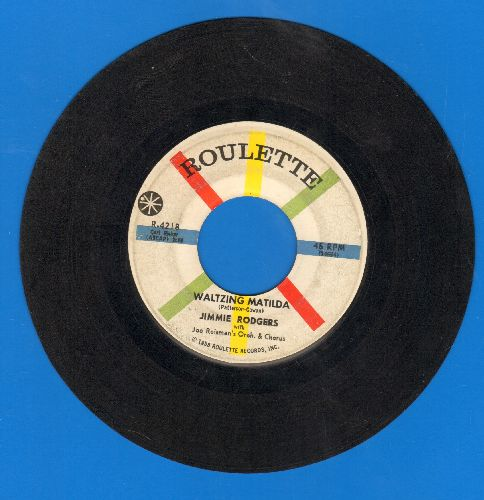Rodgers, Jimmie - Waltzing Matilda/T.L.C. (Tender Love And Care)  - VG7/ - 45 rpm Records