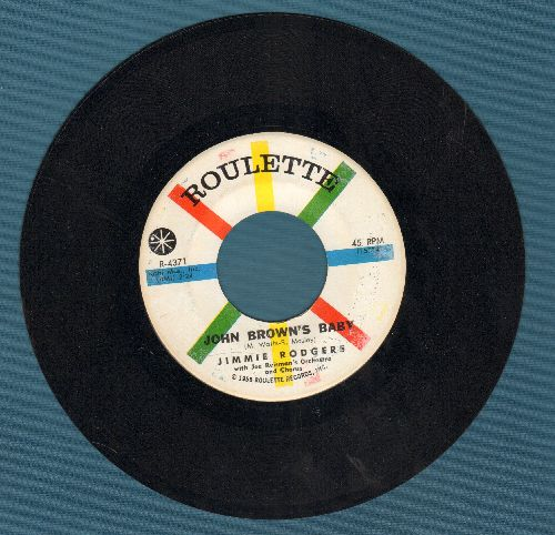 Rodgers, Jimmie - Jon Brown's Baby/I'm Goin' Home - NM9/ - 45 rpm Records