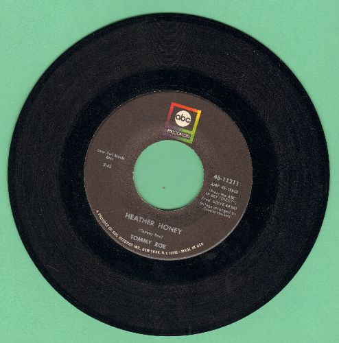 Roe, Tommy - Heather Honey/Money Is My Pay - EX8/ - 45 rpm Records