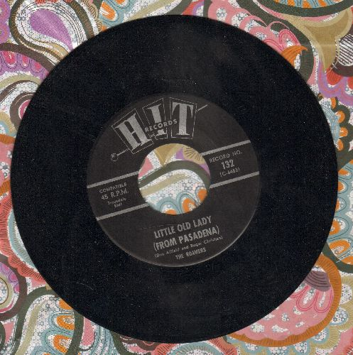 Roamers - Little Old Lady (From Pasadena)/Can't You See That She's Mine (by The Jalopy Five)(contemporary cover versions) - M10/ - 45 rpm Records