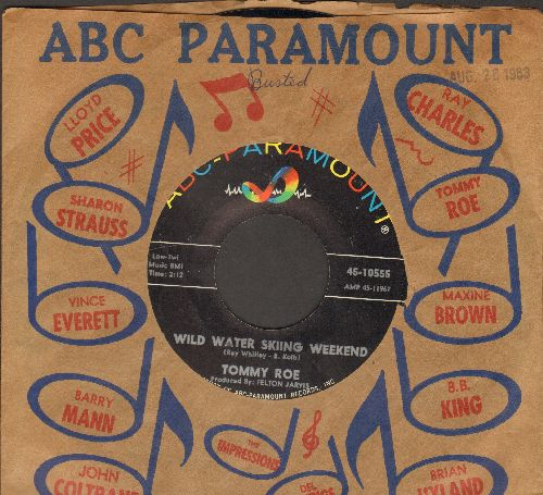 Roe, Tommy - A Wild Water Skiing Weekend/Dance With Henry (with ABC-Paramount company sleeve) - NM9/ - 45 rpm Records