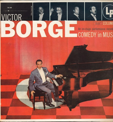 Borge, Victor - Victor Borge - An on-stage performance recording of Comedy in Music (vinyl LP record - re-issue of original recordings) - M10/NM9 - LP Records