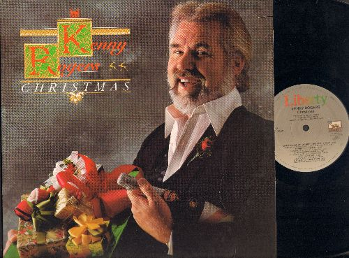Rogers, Kenny - Christmas: Christmas Everyday, Kentucky Homemade Christmas, Carol Of The Bells, Kids, Sweet Little Jesus Boy, Christmas Is My Favorite Time Of The Year, White Christmas, My Favorite Things, O  Holy Night, When A Child Is Born (vinyl Stereo