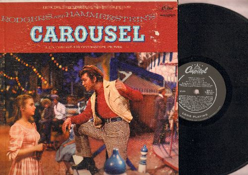 Carousel - Original Motion Picture Sound Track, featuring Shirley Jones and Gordon MacRae. (viny MONO LP record) - VG7/VG7 - LP Records