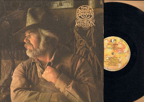 Rogers, Kenny - Gideon: Don't Fall In Love With A Dreamer, Somebody Help Me, The Buckaroos (vinyl LP record) - EX8/EX8 - LP Records