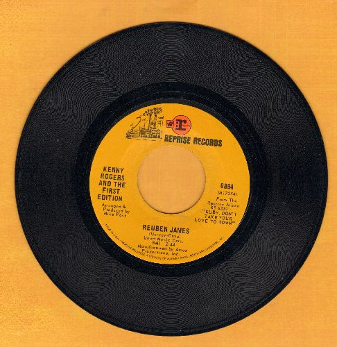 Rogers, Kenny & The First Edition - Ruben James/Sunshine - EX8/ - 45 rpm Records