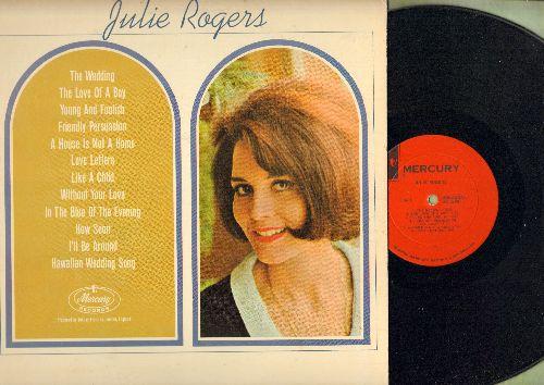 Rogers, Julie - Julie Rogers: The Wedding, Friendly Persuasion, Hawaiian Wedding Song, Love Letters (vinyl MONO LP record) - NM9/EX8 - LP Records