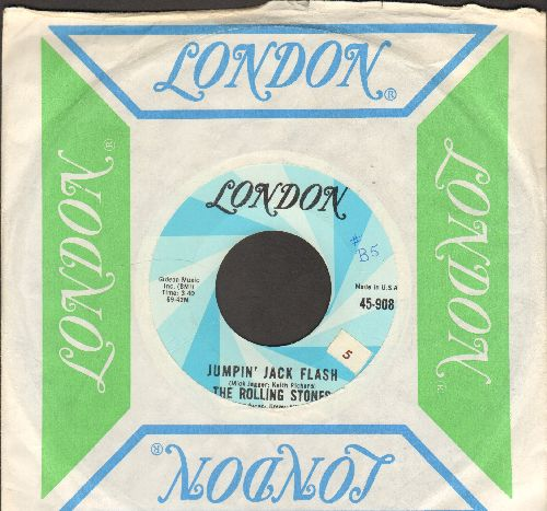 Rolling Stones - Jumpin' Jack Flash/Child Of Thye Moon (with London company sleeve) - NM9/ - 45 rpm Records