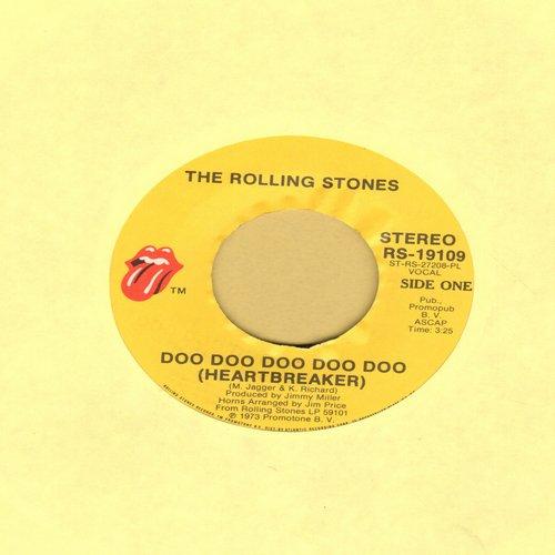 Rolling Stones - Doo Doo Doo Doo Doo (Heartbreaker)/Dancing With Mr. D. - VG7/ - 45 rpm Records