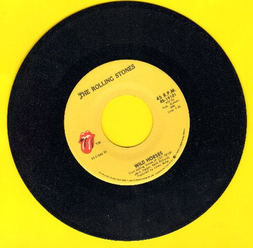 Rolling Stones - Wild Horses/Sway - NM9/ - 45 rpm Records