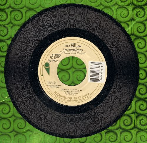 Romantics - One In A Million/Do Me Anyway You Wanna  - EX8/ - 45 rpm Records