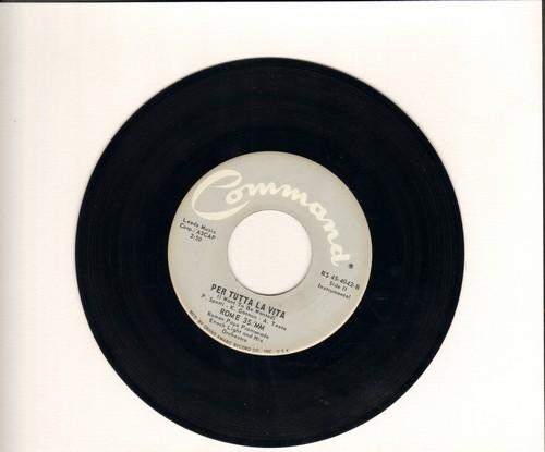 Light, Enoch & His Orchestra - Per Tutta La Vita (I Want To Be Wanted)/Via Veneto - M10/ - 45 rpm Records