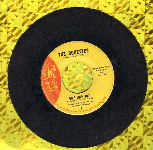 Ronettes - Do I Love You? (Yes, I Love You)/Bebe And Susu (wol) - VG7/ - 45 rpm Records