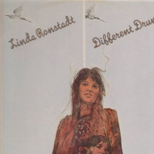 Ronstadt, Linda - Different Drum: Will You Love Me Tomorrow, I'll Be Your Baby Tonight, Rock Me On The Water (vinyl STEREO LP record) - NM9/VG7 - LP Records