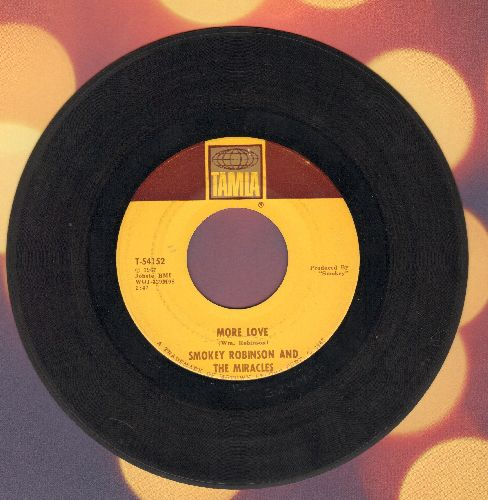 Robinson, Smokey & The Miracles - More Love/Swept For You Baby - EX8/ - 45 rpm Records
