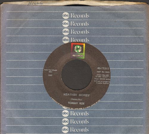 Roe, Tommy - Heather Honey/Money Is My Pay (with company sleeve) - EX8/ - 45 rpm Records