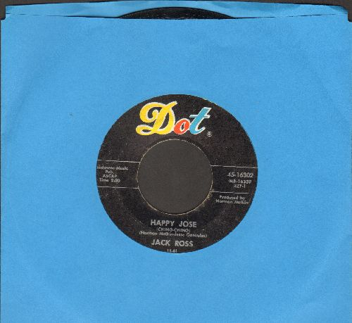 Ross, Jack - Happy Jose (Ching Ching)/Sweet Georgia Brown  - VG6/ - 45 rpm Records