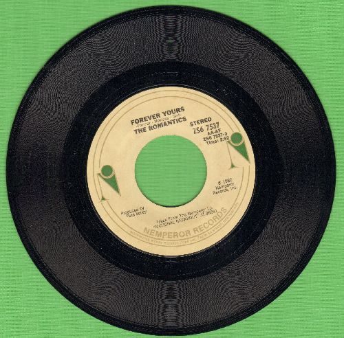 Romantics - Forever Yours/New Cover Story - NM9/ - 45 rpm Records