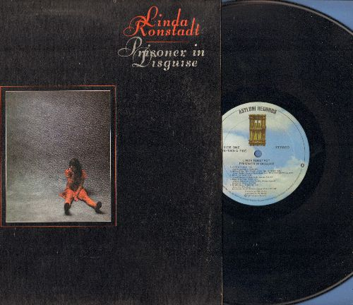 Ronstadt, Linda - Prisoner In Disguise: Heat Wave, I Will Always Love You, Love Is A Rose, Tracks Of My Tears (vinyl STEREO LP record, gate-fold cover) - NM9/EX8 - LP Records