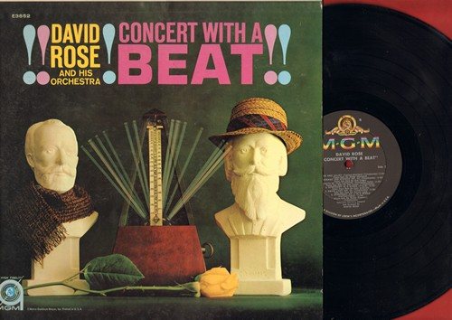 Rose, David & His Orchestra - Concert With A Beat: Swan Lake, Romeo And Juliet, Waltz Of The Flowers,None But The Lonely Heart (vinyl MONO LP record) - NM9/EX8 - LP Records