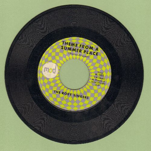 Rosy Singers - Theme From A Summer Place/The Sweetheart Tree (From -The Great Race-)(RARE vocal versions) - NM9/ - 45 rpm Records
