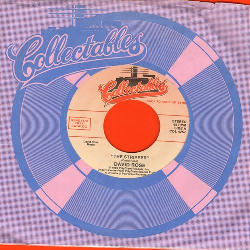 Rose, David & His Orchestra - The Stripper/Happy Birthday (by Eddy Howard on flip side) (re-issue) - M10/ - 45 rpm Records