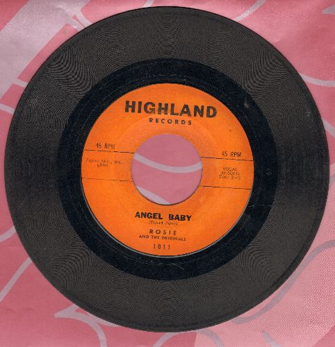 Rosie & The Originals - Angel Baby/Give Me Love (original first issue)(wol) - VG6/ - 45 rpm Records