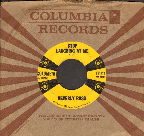 Ross, Beverly - Stop Laughing At Me/Headlights (with Columbia company sleeve) - EX8/ - 45 rpm Records