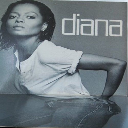 Ross, Diana - Diana: Upside Down, I'm Coming OutHave Fun, Give Up (vinyl STEREO LP record, gate-fold cover) - EX8/EX8 - LP Records