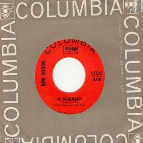 Rosso, Nini - Il Silencio/Via Caracciola (with Columbia company sleeve) - EX8/ - 45 rpm Records
