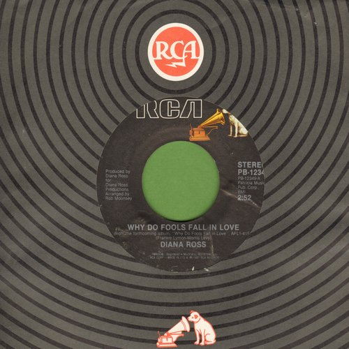 Ross, Diana - Why Do Fools Fall In Love?/Think I'm In Love - EX8/ - 45 rpm Records