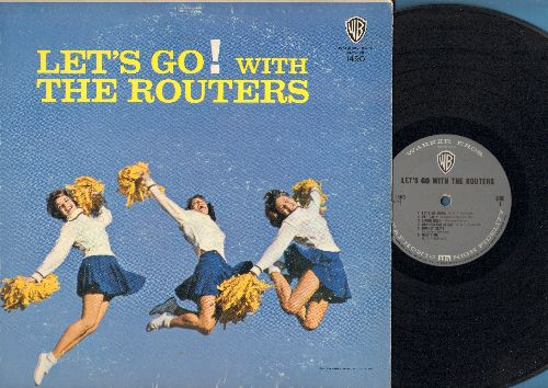 Routers - Let's Go! With The Routers: Limbo Rock, Bucket Seats, Sting Ray, Let's Dance, Mating Call (vinyl MONO LP record) - VG7/VG7 - LP Records