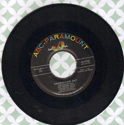 Rover Boys - Graduation Day/I Hear Music - VG7/ - 45 rpm Records
