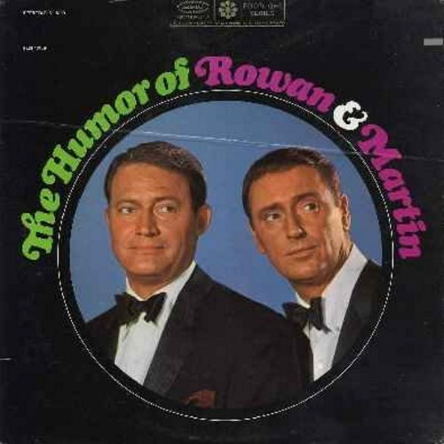 Rowan & Martin - The Humor Of Rowan & Martin: The Doctor Interview, Gilrs, Camp Sunny Sunshine, The Birds And The Bees, Mates Inc., Introduction Adagio/Allegro (vinyl LP record - Original 1960s comedy album!) - NM9/EX8 - LP Records