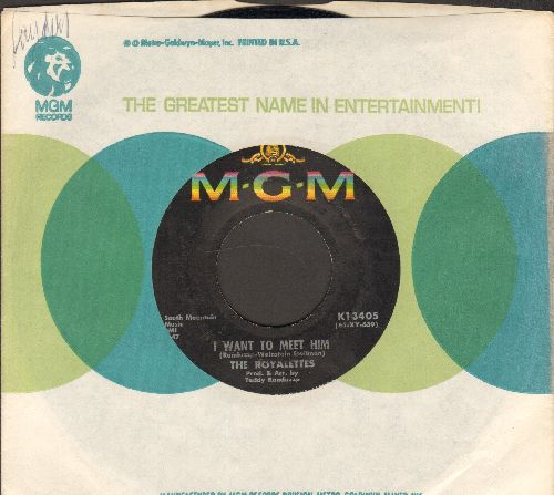 Royalettes - I Want To Meet Him/Never Again (with MGM company sleeve) - EX8/ - 45 rpm Records