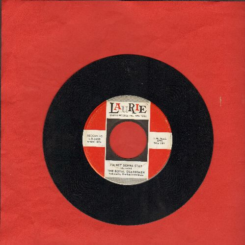 Royal Guardsmen - I'm Not Gonna Stay/I Say Love - EX8/ - 45 rpm Records
