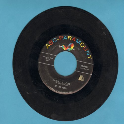 Royal Teens - Short Shorts/Planet Rock (with juke box label) - VG6/ - 45 rpm Records